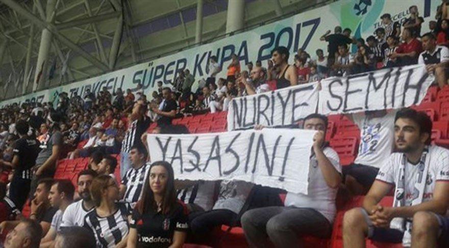 'Nuriye-Semih' pankartına 10 tutuklama