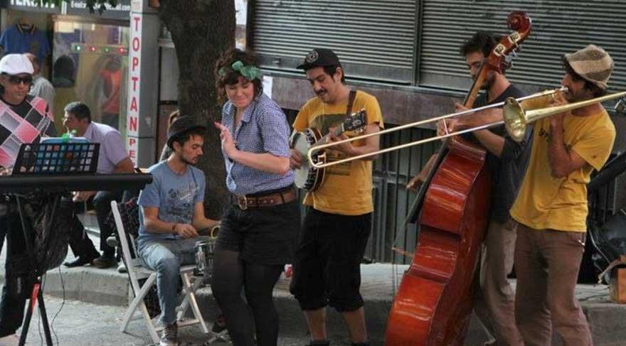 Müzik, eğlence ve gastronomi Bomonti sokaklarında
