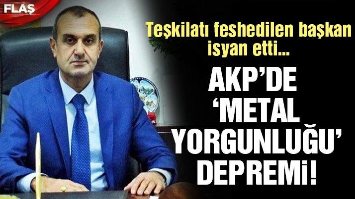Son dakika… AKP'de sıcak saatler! İlçe teşkilatı feshedildi