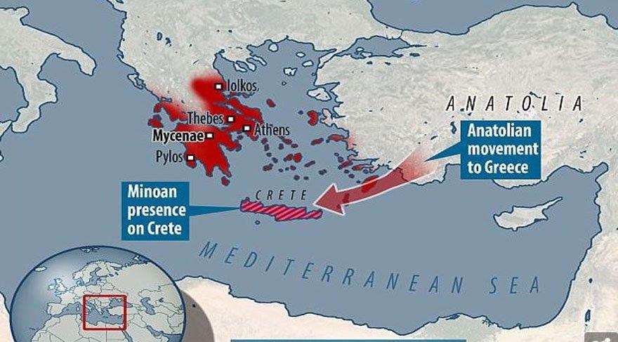 DNA analizi sonucu : Avrupa'nın ilk gelişmiş uygarlıklarının kökenleri Türkiye'den çıktı