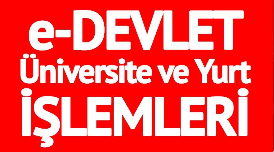 e-Devlet giriş: e-Devlet sistemi düzeldi mi? KYK yurt başvurusu ve üniversite kayıt işlemleri yapılıyor mu?