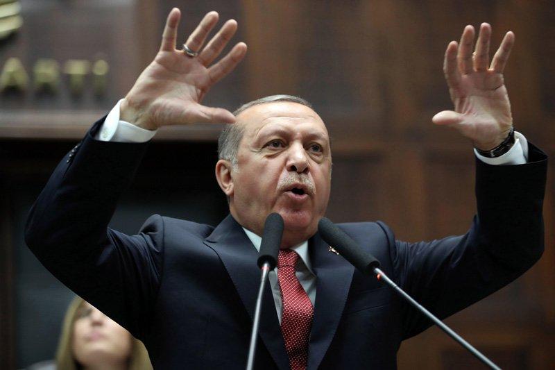 FOTO:İHA - Erdoğan partisinin grup toplantısında