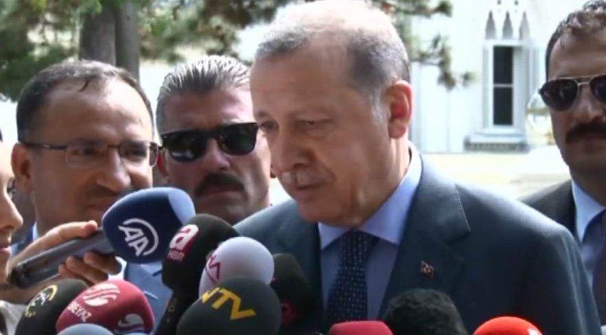 Son dakika... Erdoğan'dan gurbetçilere çok sert Merkel çağrısı