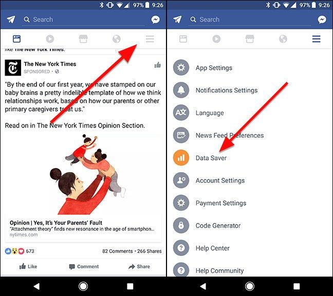 facebook-tasarruf-modu