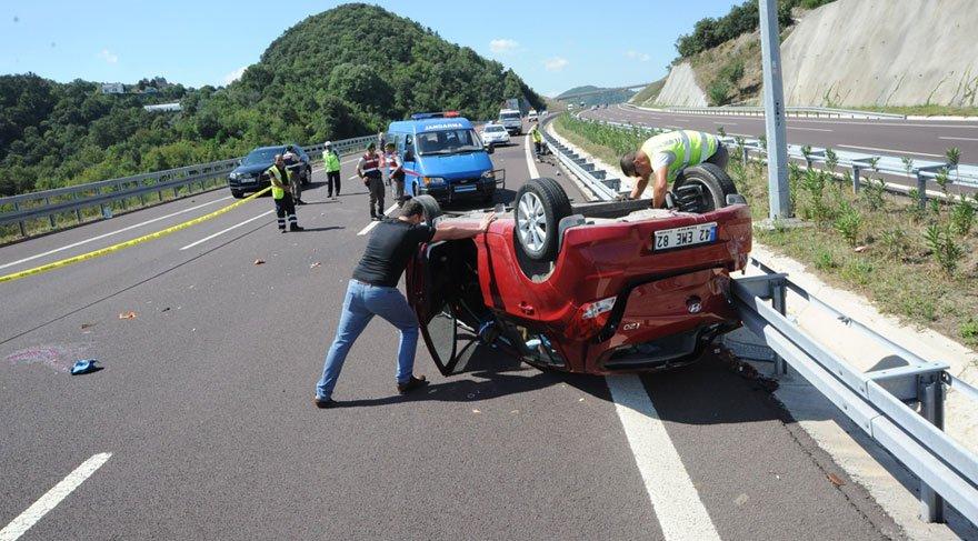 Festival dönüşü feci kaza! 1 ölü, 4 yaralı