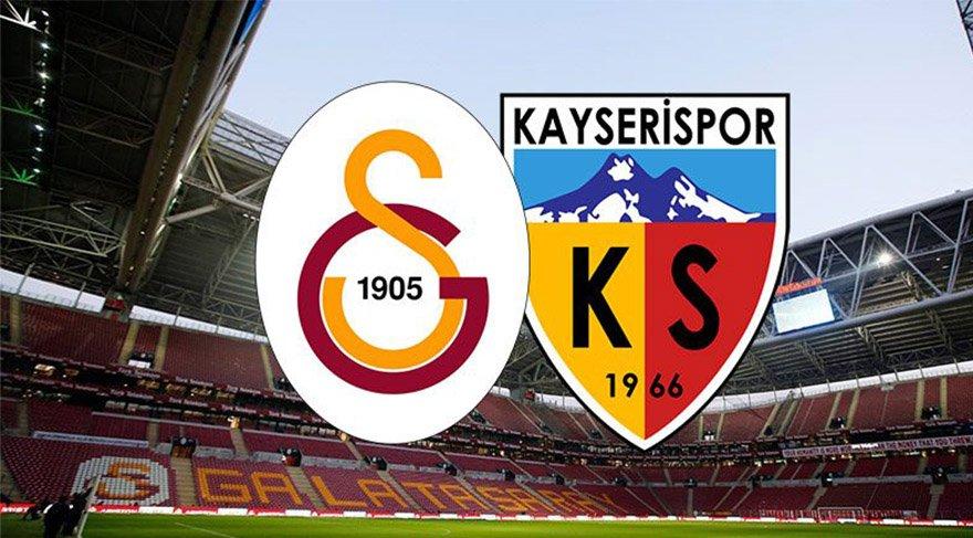 Galatasaray Kayserispor maçı canlı izle! GS maçını yayınlayacak kanallar listesi! (CANLI YAYIN)