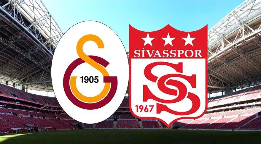 İşte ilk 11'ler!Galatasaray Sivasspor maçı saat kaçta canlı yayınlanacak? (GS Sivas maçı hangi kanalda şifresiz mi?)