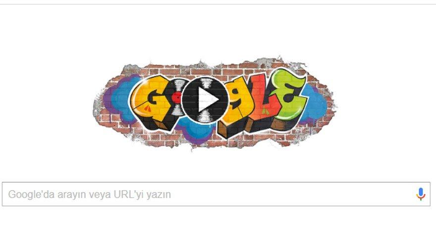 Google'dan Hip Hop severlere özel doodle!