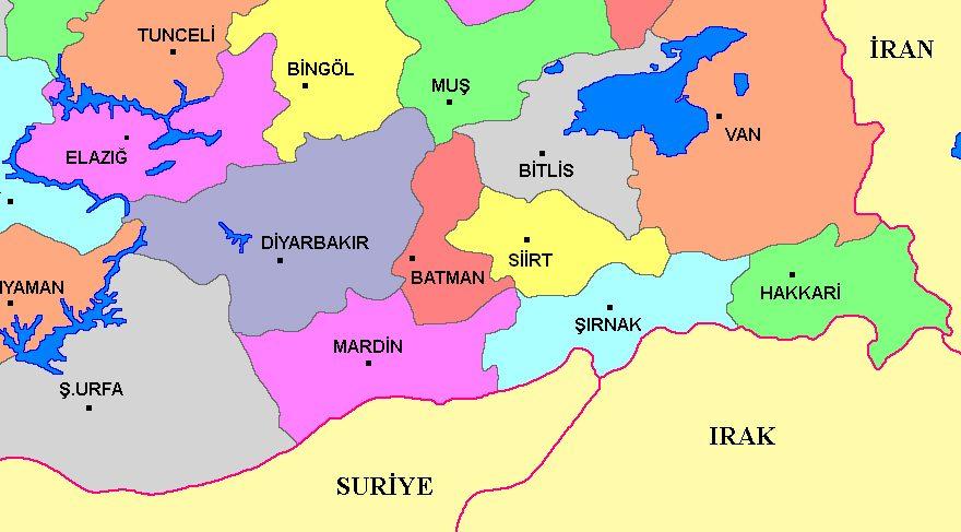KHK ile Türkiye haritası da değişti!