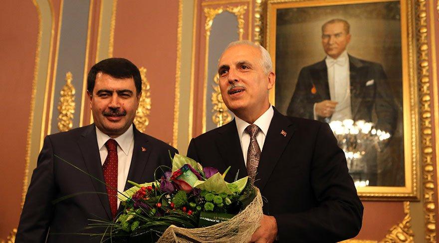 Eski İstanbul Valisi Hüseyin Avni Mutlu, 2014'te görevini Vasip Şahin'e devretmişti