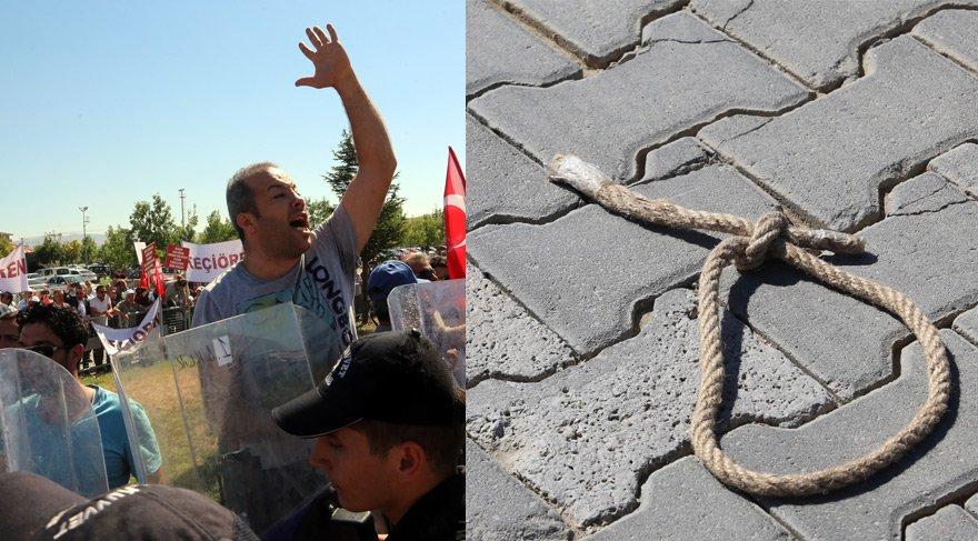 AKP heyetinin kafasına 'idam ipi' attılar! İşte darbe davasındaki o an...