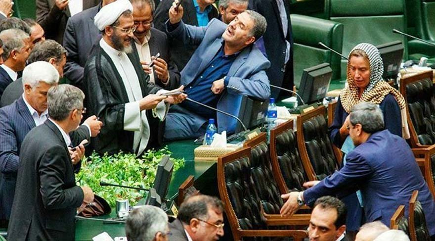 İran'ı karıştıran selfie