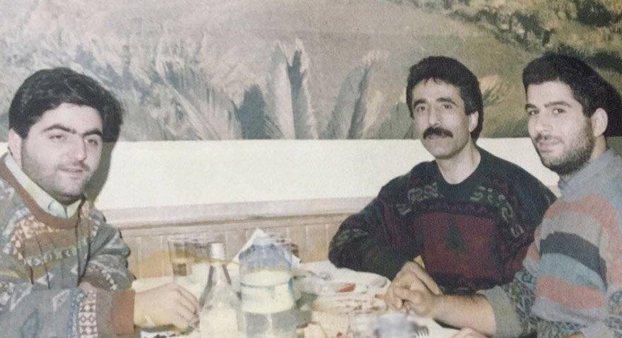 Murat Mihran İşler yeğeni Norayr İşler ile birlikte...