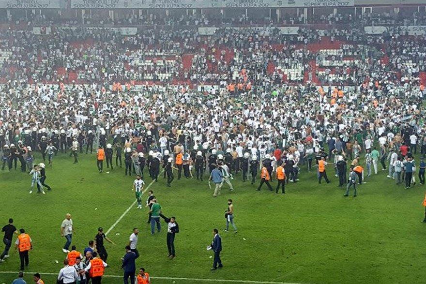 Süper Kupa finaline 'terör' soruşturması