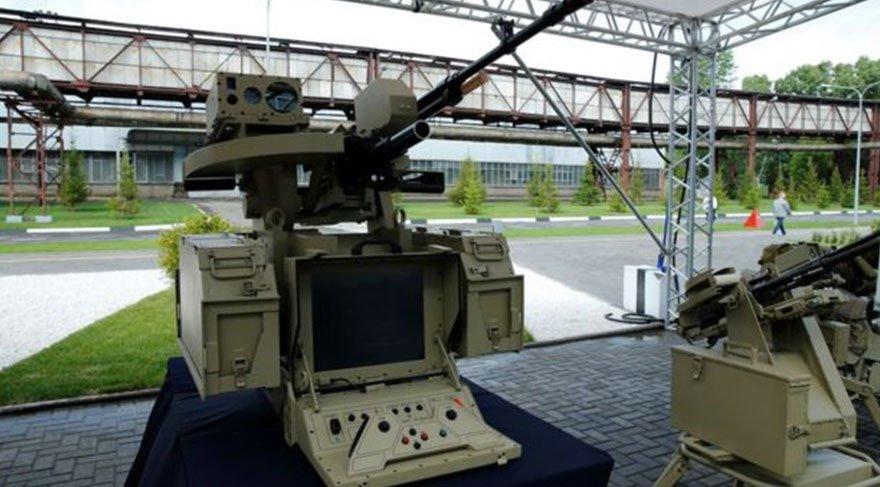 Kalashnikov tam otonom silahlar üretiyor FOTO: KALASHNİKOV GROUP