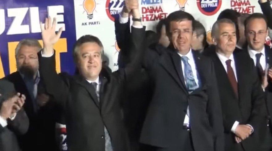 Ekonomi Bakanı Nihat Zeybekçi, hemşerisinin elinden tutarak onu Ankara'ya transfer etmişti.