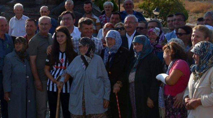 Kılıçdaroğlu, köylülerle kahvaltı yaptı