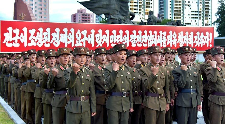3.5 milyon Kuzey Koreli orduya giriyor