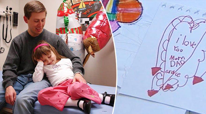 Küçük kız 6 yaşında kendini ölüme hazırladı…