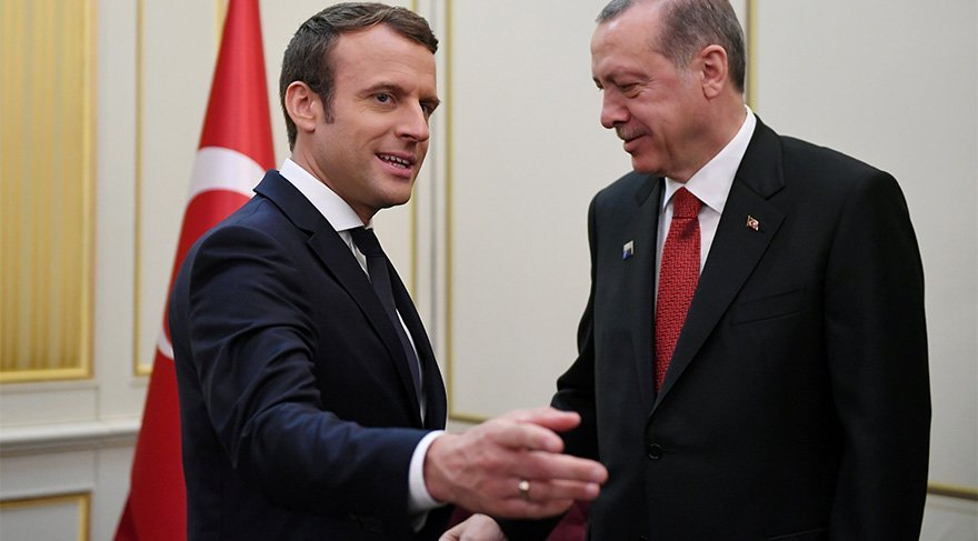 Fransız liderden şok Erdoğan örneği