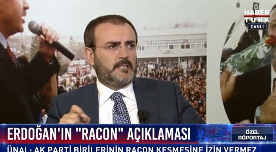 AKP Sözcüsü Mahir Ünal'dan 'yer sofrası' eleştirisi