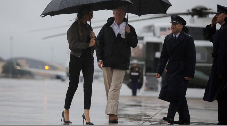First Lady'nin topuklu ayakkabısı kriz yarattı