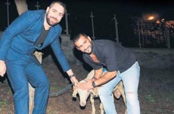 FOTO:SÖZCÜ - Mehmet Şah D., daha önce Ümit Karan'ın 38'inci yaşgünü kutlamalarında gündeme geçmişti. Karan'ın ortağı 2014 yılındaki o kutlamada ünlü futbolcuya koç hediye etmişti.