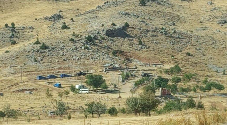 Nurhak'ta çatışma çıktı 2 terörist öldürüldü