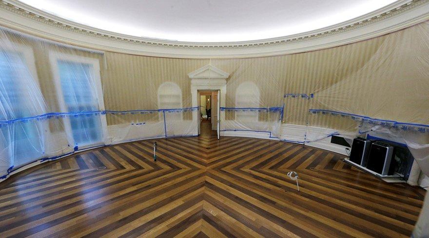 Beyaz Saray çalışanları Trump'ın tatilini fırsat bildi