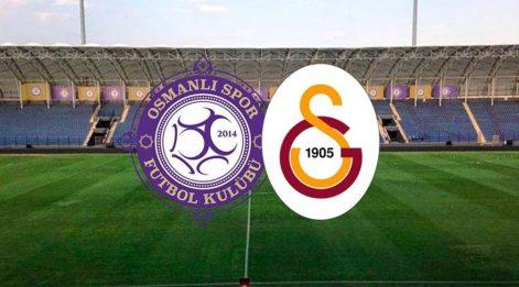 CANLI İZLE: Osmanlıspor Galatasaray maçı canlı izle! GS maçını yayınlayacak uydu kanalları listesi!