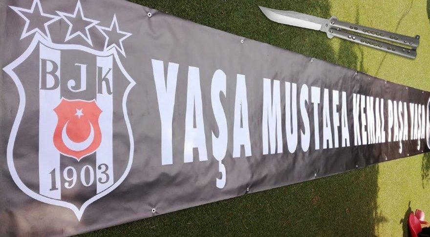 Samsunda Atatürk Pankartının Stada Alınmamasına Büyük Tepki