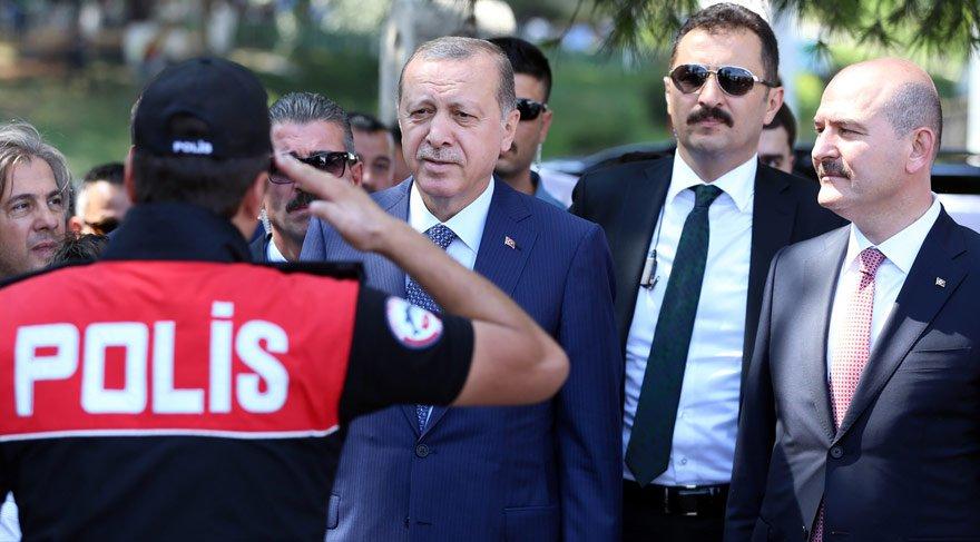 Erdoğan: Hasdal'da yeni emniyet külliyemizi inşa edeceğiz