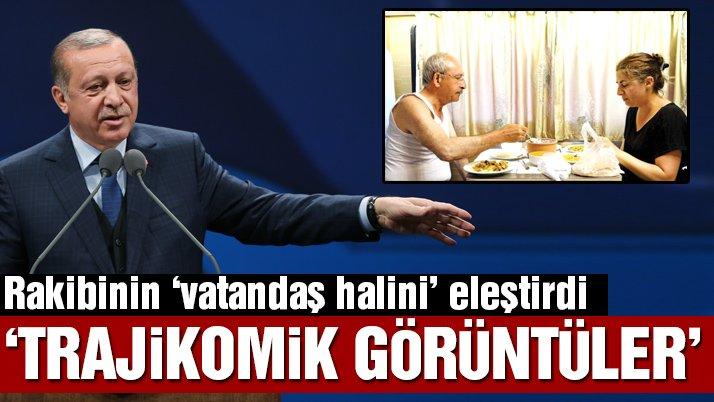 Erdoğan muhtarlar toplantısında Kılıçdaroğlu'nu eleştirdi