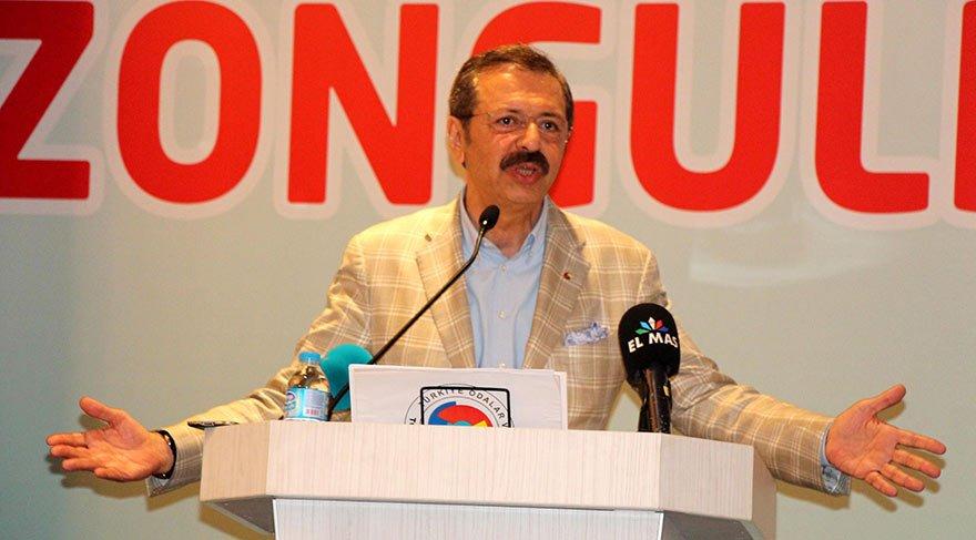 TOBB Başkanı Hisarcıklıoğlu: Vali ve vekillerin aldığı maaş, maaş değil