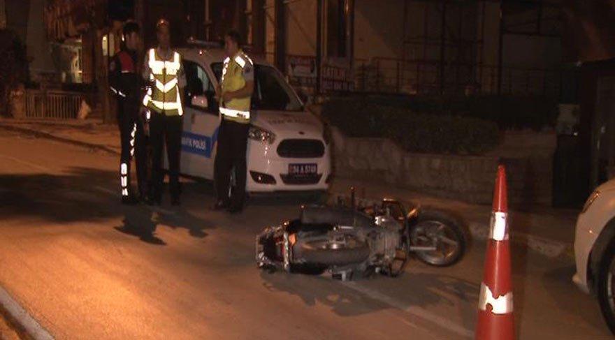 Kadıköy'de motorsiklet kazası: Ağır yaralılar var