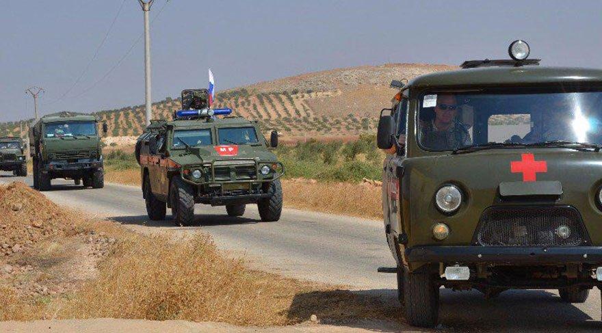 Rusya askerleri Afrin'e girdi