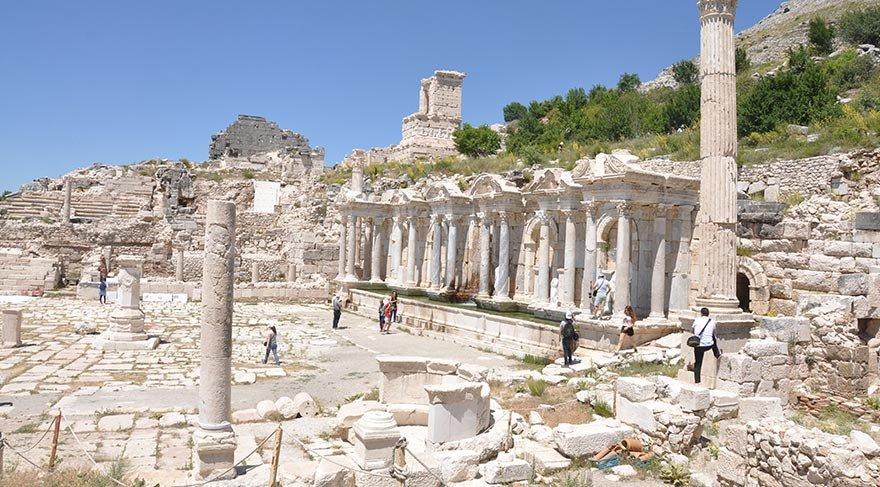 Burdur'da bir antik kent: Sagalassos