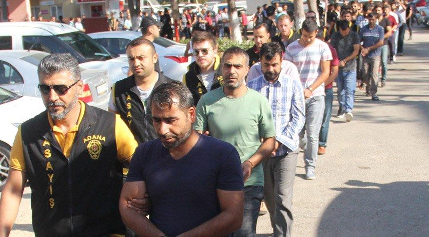 Sahte polislere rekor tutuklama
