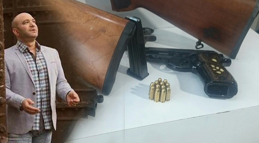 Şarkıcı Günter Bayraktar'ın silah çetesi çökertildi!