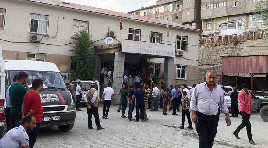 Şemdinli'de patlama: 1 polis 3 korucu yaralı