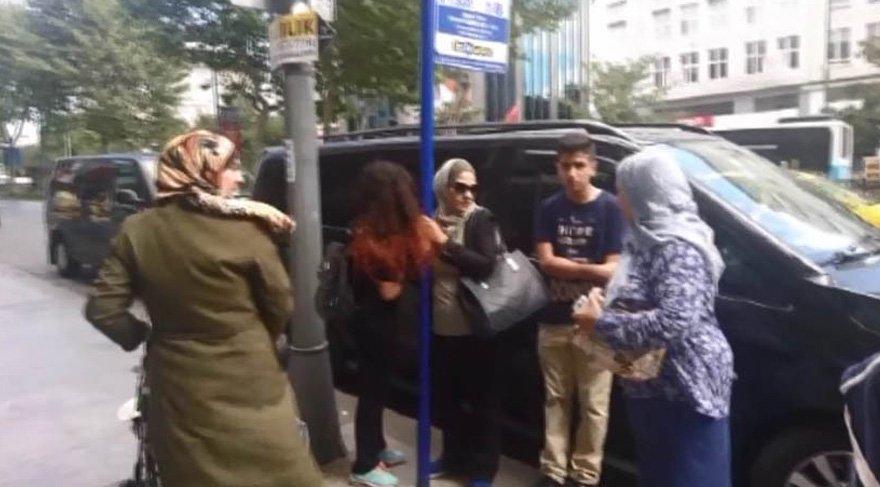 Şişli'de Arap turist kapkaça uğradı