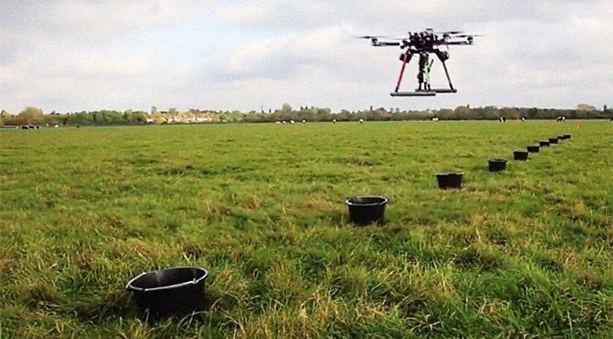 Bu bahçıvan drone'lar ile dev orman yaratacak!