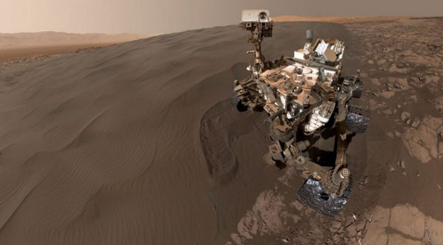 Mars gezgini Curiosity'nin 5'inci yaşı kutlu olsun!
