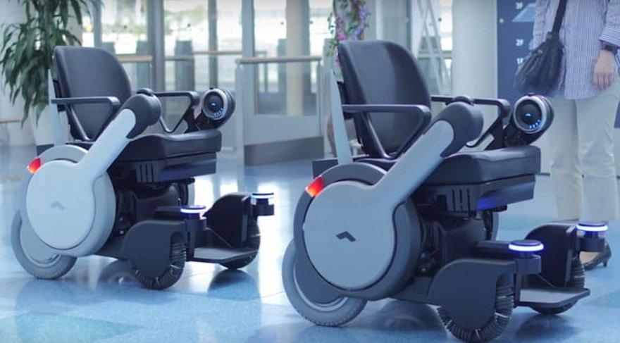 Robot sandalye tüm işlerinizi oturarak halletmenizi sağlayacak