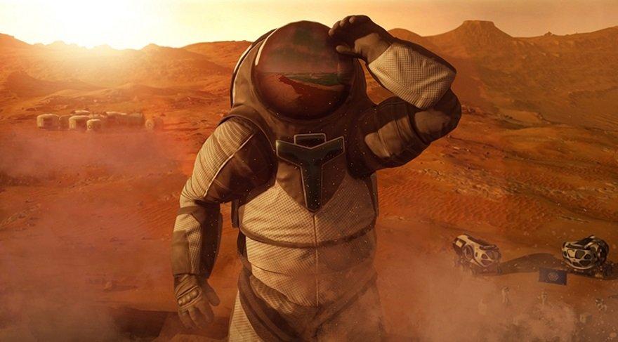 15 Dolar'a Mars seyehati! Sanal gerçeklik uzaya götürüyor
