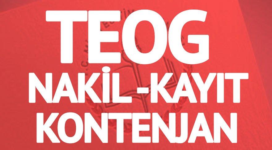 TEOG kontenjanları ve nakil işlemleri dönemi: Güncel lise kontenjanları E-Okul'da!