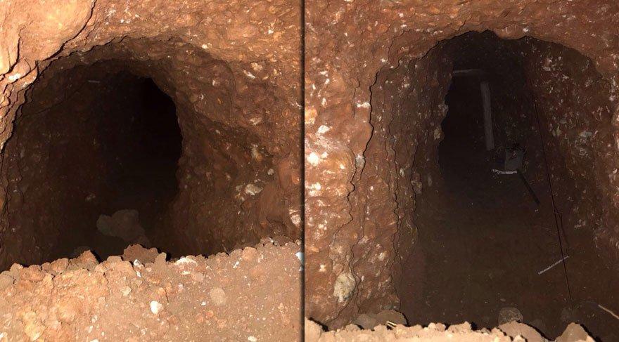 PKK'nın, Nusaybin'den Kamışlı'ya kazdığı tünel ortaya çıktı