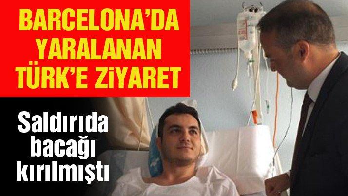 Barcelona saldırısında yaralanan Türk hastanede