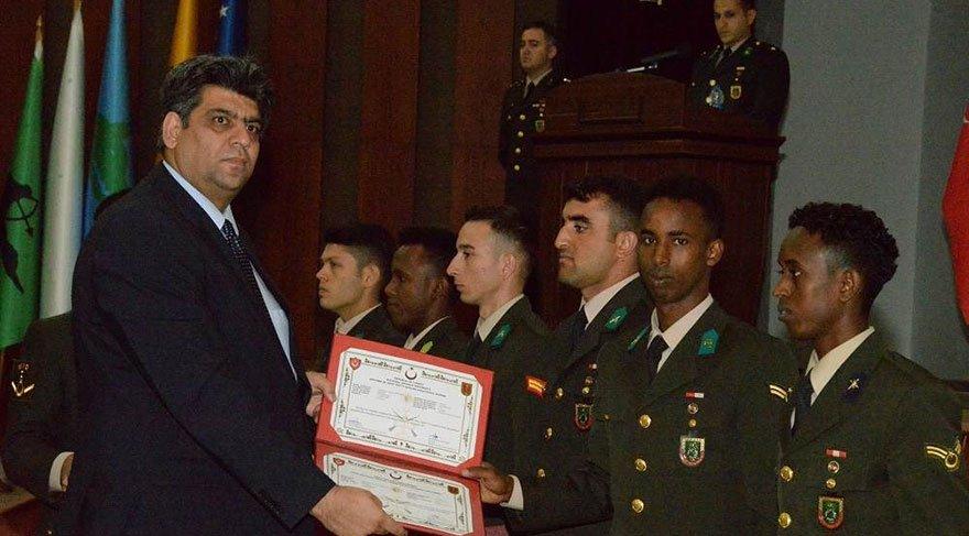 TSK'dan 21 yabancı astsubay mezun oldu