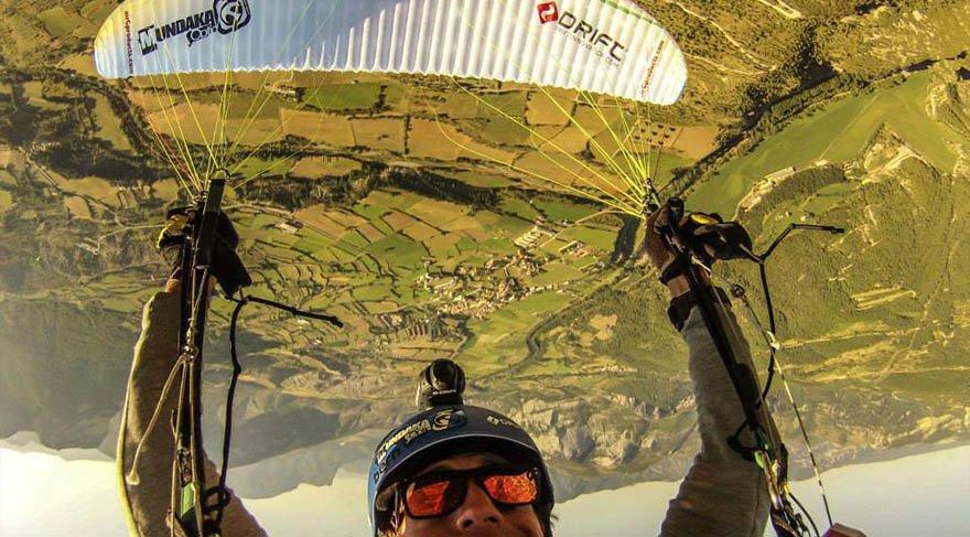 Yamaç paraşütünde farklı deneyim